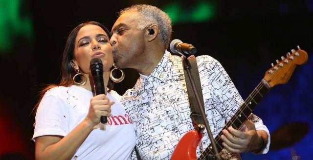 Gil comemorou saída de Temer da presidência em outubro de 2018. Foto: Argo Imagens/Divulgação/Combina MPB
