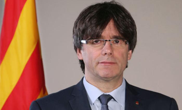 Ex-presidente catalão Carles Puigdemont. Foto: Reprodução/Internet