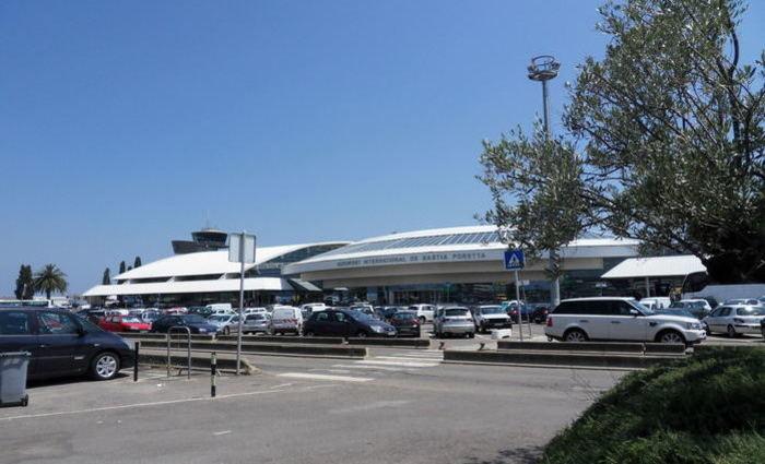 Aeroporto de Basti, na Córsega, ilha francesa do Mediterrâneo. Foto: Reprodução/Internet