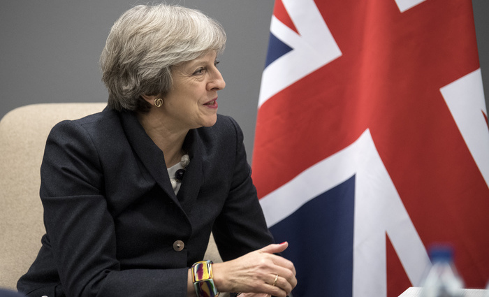 Primeira-ministra britânica Theresa May. Foto: LARSSON ROSVALL /TT NEWS AGENCY /AFP