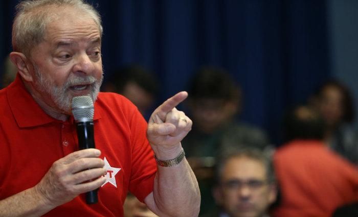 """Lula disse também que chegará à corrida presidencial de 2018 com disposição para ganhar: """"Estou com 72 anos e o tesão de um homem de 20 para fazer política"""". Foto: Felipe Araújo"""