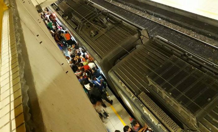 Usuários do metrô denunciam falta de segurança, atraso e calor. Foto: Mireles Paixão/ Cortesia (Usuários do metrô denunciam falta de segurança, atraso e calor. Foto: Mireles Paixão/ Cortesia)