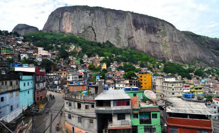 Comunidade da Rocinha. Foto: Reprodução/Internet