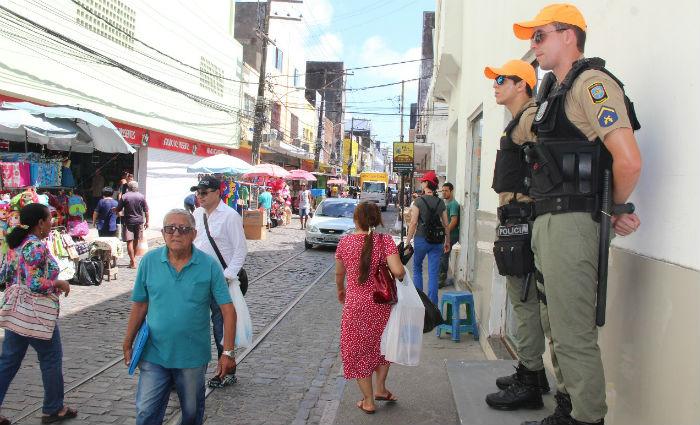 Mais 3.812 PMs vão reforçar policiamento no comércio no final do ano. Foto: PM/ Divulgação
