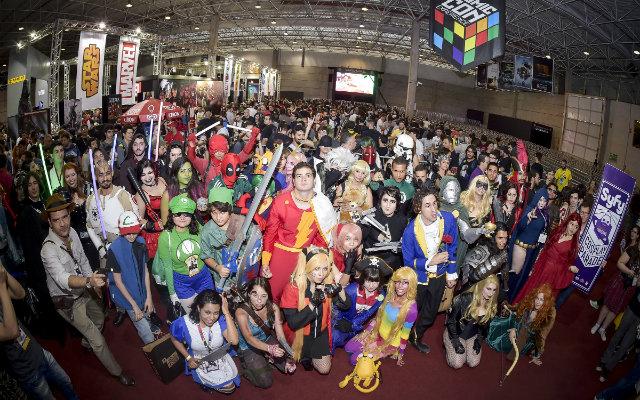 Feira reúne fãs da cultura geek e estrelas da TV e do cinema. Foto: Gustavo Scatena/Divulgação