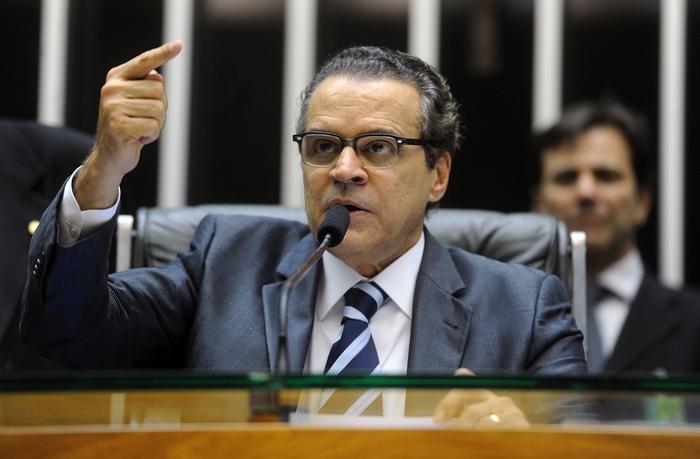 Se a denúncia for aceita, Henrique Alves se tornará réu por lavagem de dinheiro em 2014 e 2015. Foto: JBatista/Câmara dos Deputados