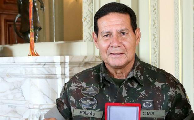 General do Exército Antonio Hamilton Mourão. Crédito: Correio Braziliense/Reprodução