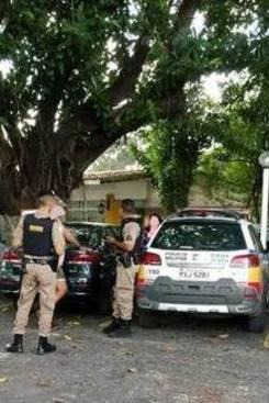 Crime aconteceu em clube no Bairro Riacho em Contagem. Foto: Reprodução/Whatsapp