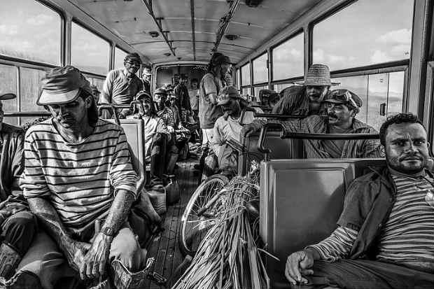 O fotógrafo e produtor Joãomiguel Pinheiro optou por fotos em preto e branco. Crédito: Joãomiguel Pinheiro/Divulgação