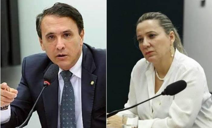 Deputados Carlos Henrique Gaguim e Dulce Miranda. Foto: Divulgação