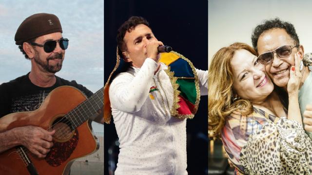 Revéillon terá palcos no Acaiaca e na praia do Pina. Foto: Andrea Rego Barros e Clelio Thomaz/Divulgação e Nando Chiappetta/DP