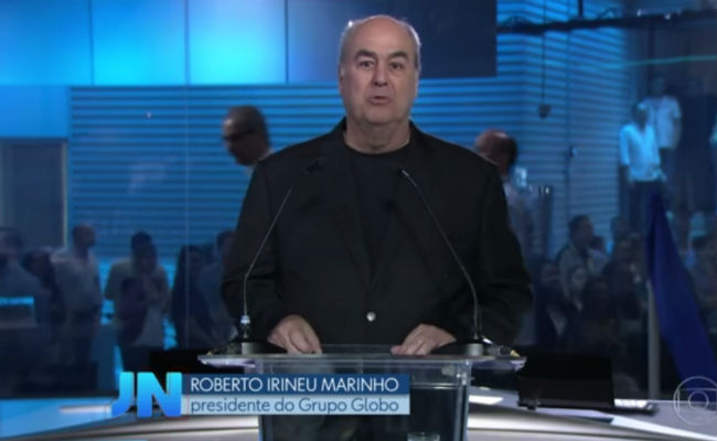 Roberto Irineu Marinho desempenhará outras funções no grupo. Foto: Globo/Reprodução