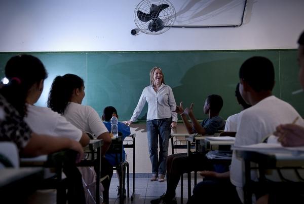 Uma das mudanças trazidas pela BNCC é a antecipação da alfabetização das crianças até o 2º ano do ensino fundamental. Foto: Governo do Brasil