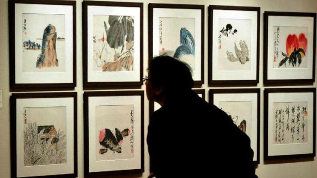 Pintor é o primeiro na China a superar os 100 milhões de dólares. Foto: AFP/Reprodução