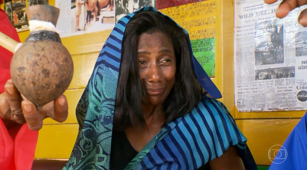 Glória Maria vai servir peru, rabanada e pernil. Foto: Globo/Reprodução