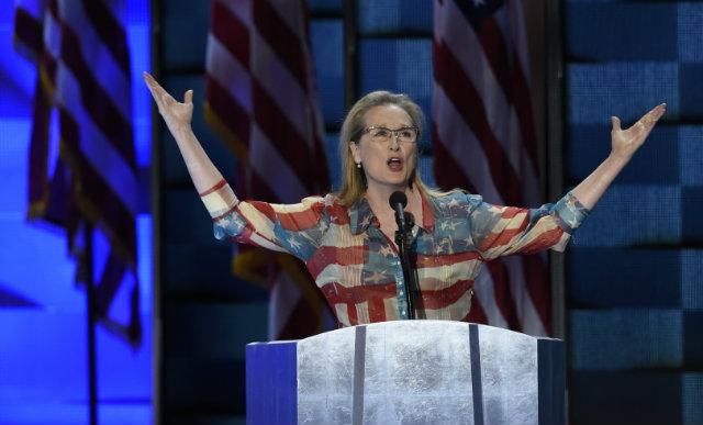 Meryl Streep, que sempre falou abertamente contra o assédio sexual, é uma das que lideram o movimento. Foto: Jessica Kourkounis/Getty Images/AFP