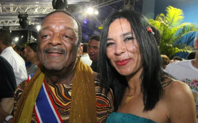 Patrícia e Naná, que faleceu em março de 2016. Foto: Nando Chiappetta/DP