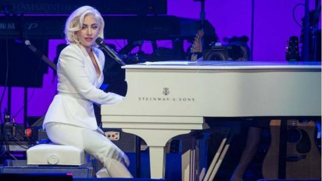 A cantora Lady Gaga apresentará uma canção do seu álbum Joanne. Foto: Grammy/Reprodução