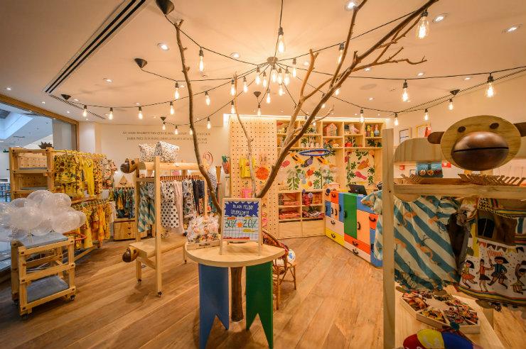 A primeira loja da Fábula na capital pernambucana abrirá as portas no próximo dia 12, com proposta de figurino lúdico para crianças de até 10 anos. Foto: Fábula/Divulgação