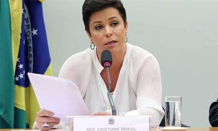Deputada Cristiane Brasil, futura ministra do Trabalho. Foto: Gilmar Felix / Câmara dos Deputados