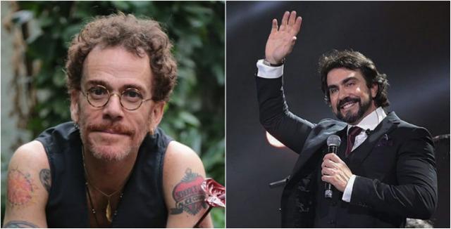 Artistas se comunicaram através da internet. Fotos: Carol Siqueira/Divulgação e Facebook/Reprodução