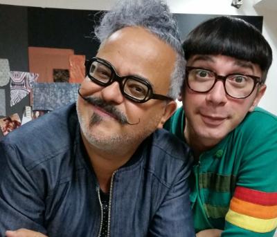 O estilista pernambucano trabalhou como assistente do mineiro Ronaldo Fraga em uma das edições do Senai Brasil Fashion. Foto: Arquivo Pessoal