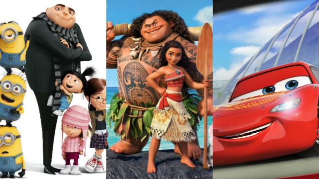 Exibições fazem parte da programação de férias escolares do estabelecimento. Foto: Disney e Dreamworks/Divulgação