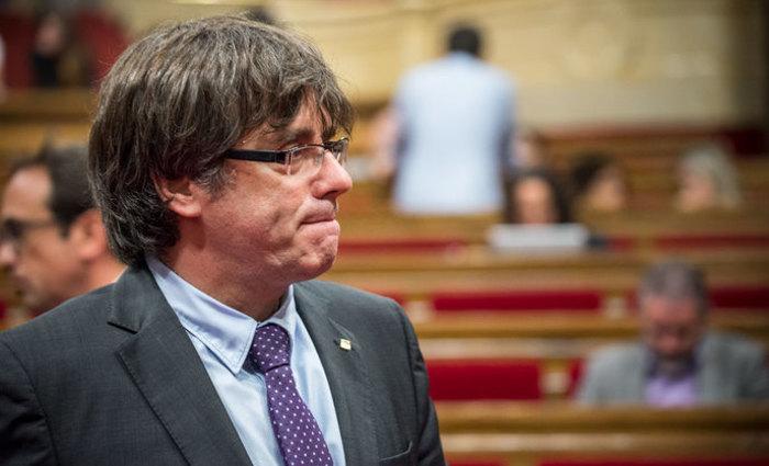 Carles Puigdemont. Foto: Reprodu