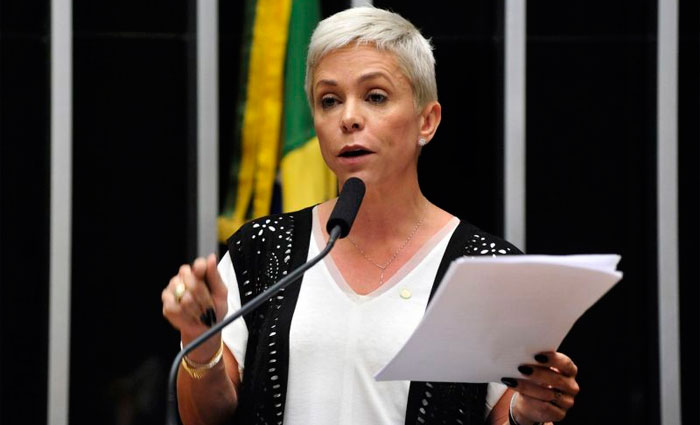 Deputada Cristiane Brasil continua impedida de assumir o cargo na Esplanada. Foto: Luis Macedo/Câmara dos Deputados