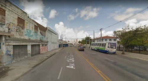 Avenida Cruz Cabugá, no bairro de Santa Amaro. Foto: Street View/Divulgação