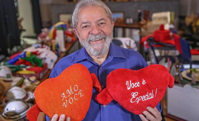 As vaquinhas pedem dinheiro para manifestações a favor de Lula - Foto: Divulgação / Ricardo Stuckert