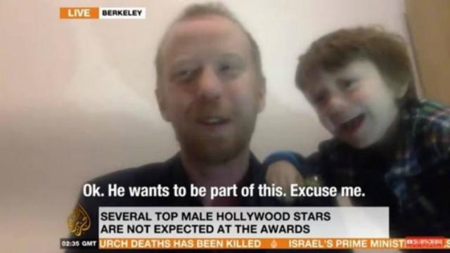 A Al Jazeera chamou o ocorrido de 'nosso momento BBC'. Foto: YouTube/Reprodução