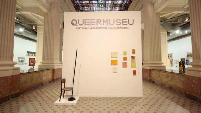 Queermuseu foi realizada com recursos obtidos por meio da Lei Rouanet. Foto: Queermuseu/Divulgação