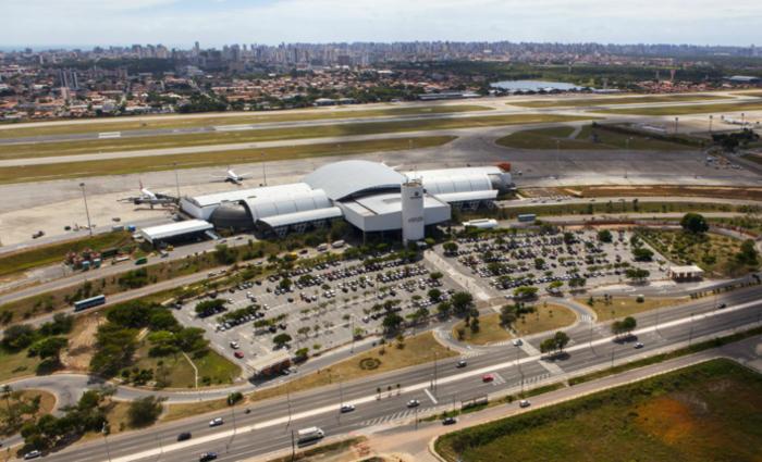 Aeroporto Internacional Pinto Martins. Foto: reprodução/Internet