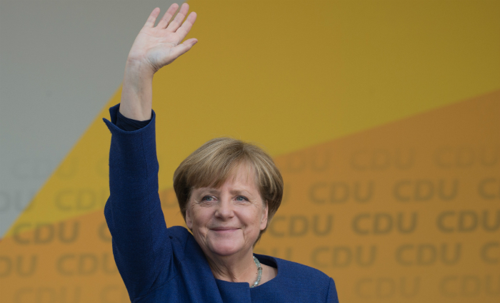 Chanceler alemã AngelaMerkel. Foto: JOHN MACDOUGALL/ AFP