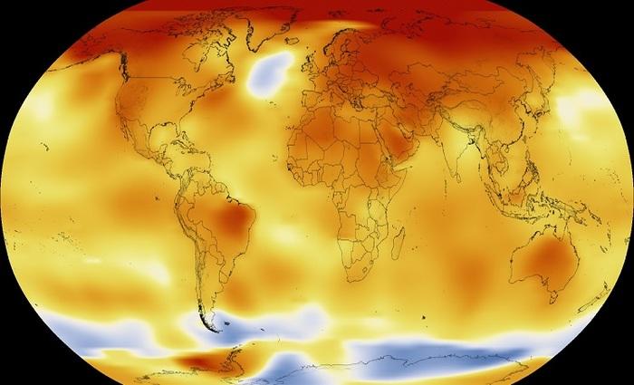 Este relatório foi encomendado pelo Painel Intergovernamental sobre Mudança Climática (IPCC) da ONU, após a adoção do Acordo de Paris em 2015, e será apresentado no segundo semestre de 2018 - Foto: Nasa/Reprodução