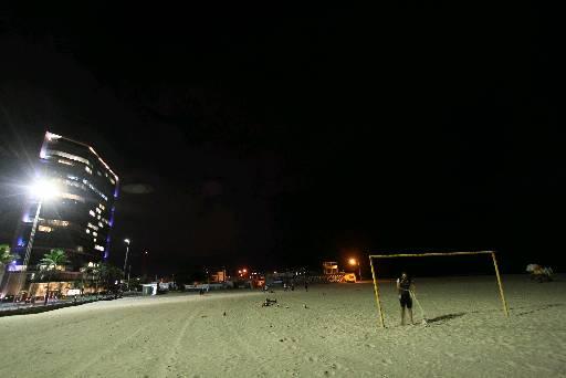 Uma das recomedações é evitar a Praia do Pina à noite. Foto: Roberto Ramos/DP (Uma das recomedações é evitar a Praia do Pina à noite. Foto: Roberto Ramos/DP)