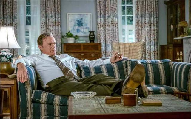 Tom Hanks interpreta o editor Ben Bradlee, que comandava a Redação do diário durante o episódio dos Papéis do Vietnã. Foto: Universal/Divulgação