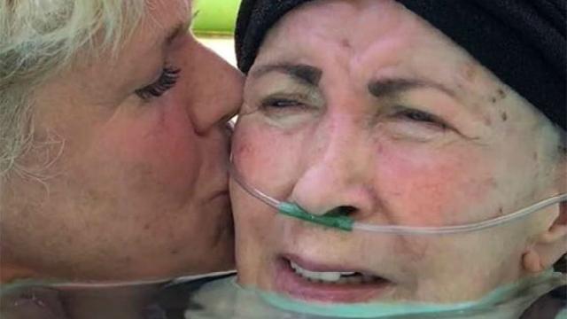 Mãe de Xuxa sofre com mal de Parkison há mais de dez anos. Foto: Instagram/Reprodução