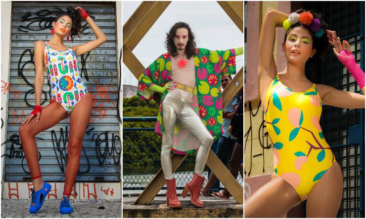 Coletivos como o Espaço Bora! reúnem marcas de vestuário e acessórios para a produção completa. Fotos: Juliana Souto e Luis Vitor/Divulgação