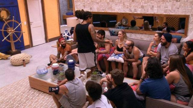 Viegas elegeu Jéssica como a 'maior jogadora' do BBB18. Foto: TV Globo/Reprodução