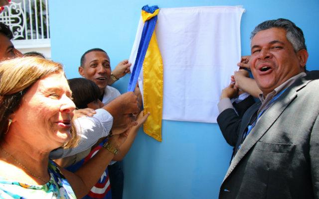 Estavam presentes na solenidade o prefeito de Olinda, Professor Lupércio, secretários municipais, vereadores e outras lideranças. Foto: Prefeitura de Olinda/Divulgação