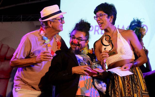 Espetáculo Mucurana, O Peixe foi um dos grandes vencedores da noite. Foto: Pedro Portugal/Divulgação