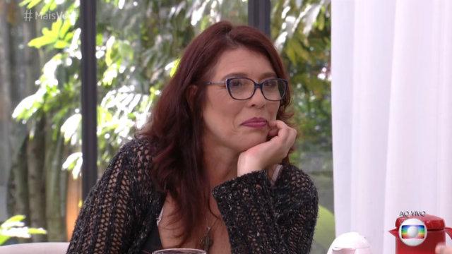 Mara analisa sua participação no reality show durante participação no Mais Você. Foto: Globo/Reprodução