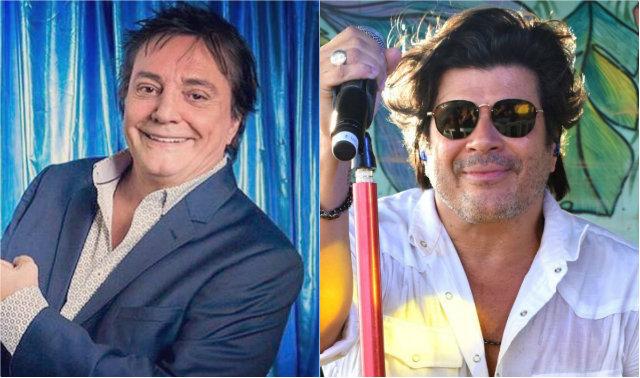 Turnê comemora 40 anos de carreira de Fábio Jr. (esquerda). Fotos: Facebook/Reprodução