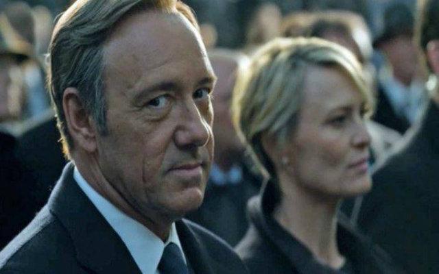 Kevin Spacey em cena de House of Cards. Foto: Netflix/Reprodução