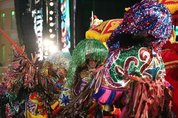 Mestres batuqueiros manterão a celebraçã sob o comando de Mestre Chacon e de Paz Brandão. Foto: Hesíodo Góes/Esp. DP