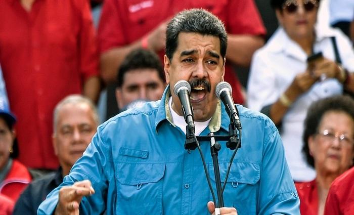 Maduro, foi proclamado candidato da situação para tentar a reeleição nas presidenciais antecipadas para antes de 30 de abril. Foto: Juan Barreto/AFP Photo