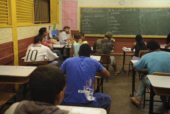 Na educação, o gasto efetivo em 2017 foi de R$ 84,04 bilhões, ante R$ 84,19 bilhões em 2016. Foto: Agência Brasil/Arquivo (Foto: Agência Brasil/Arquivo)