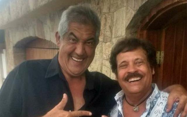 Montanha e Carlinhos Aguiar gravaram juntos no fim do ano passado. Foto: Facebook/Reprodução